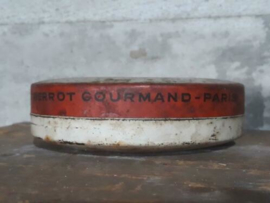 Oud Brocante Frans Blik Antique Tin Au Pierrot Gourmand Paris