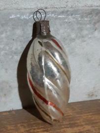 Oude Antieke Russisch Kerstbal 4788 Lampion