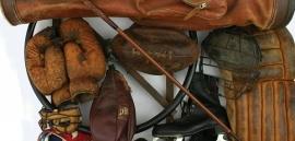 Brocante Sport Items