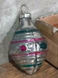 Oude Antiek Vintage Kerstbal 4253 Lampion