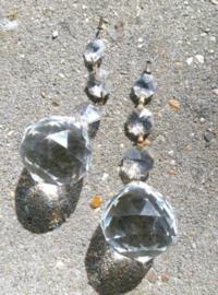 Oude Antiek Kristallen Glas Pegel Kroonluchter Bol