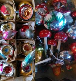 Inspiratie Oude Antieke en Vintage Kerstballen
