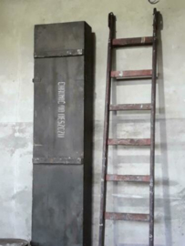 Oude Vintage Ladder Industrieel