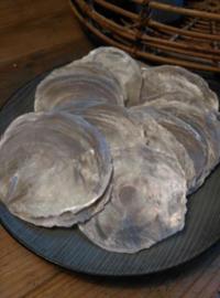 Capiz Parelmoer Grote Schelpen 8-15 cm - Set 20 Stuks