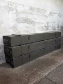 Oude Houten Legerkist Munitiekist Kist Groot XXL 200 cm