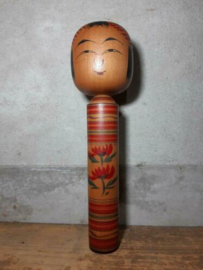 Oude Vintage Japanse Kokeshi Houten Pop Doll Tsuchiyu