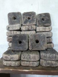 Oude Antieke Drijvers Kurken Zegenvisserij Zalmvisserij Cork Buoy