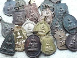 Brocante Antieke Rozenkrans & Paternoster & Amulet