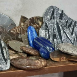 Inspiratie Edelstenen Mineralen en Ammonieten