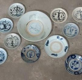 Inspiratie Antiek Chinees Swatow Ming Keramiek