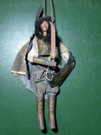 Oude Antieke Siciliaanse Theater Pop Marionet