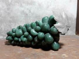 Oude Antieke Mineralen Edelstenen Druiventros Avonturijn Groen