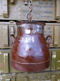 Oude Vintage Industriele Lamp Melkbuslamp Melkbus