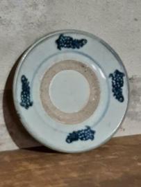 Oud Antiek Chinees Keramiek Swatow Ming Bordje