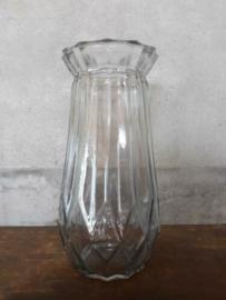Oud Gerecyclede Bloemenvaas Glas Vaas Persglas Bol