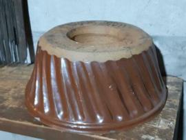 Oude Antieke Franse Bakvorm Broodvorm Tulband Gresschaal