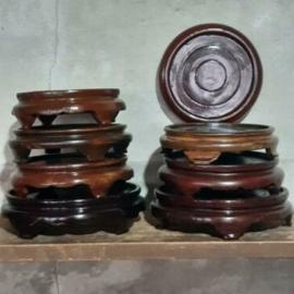 Inspiratie Oude Vintage Chinese Houten Sokkel Plateau Onderbord
