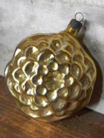 Oude Antieke Russisch Kerstbal 4087 Lampion