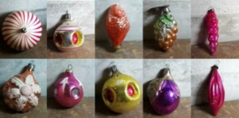 Oude Antieke & Vintage Kerstballen Russische
