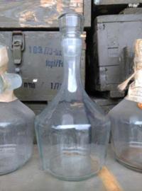 Oude Vintage Stopfles Apothekersfles Karaf Rusland