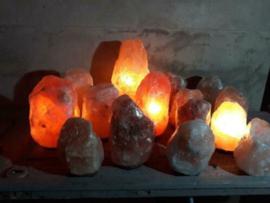 Himalaya Zoutsteen Lampen en Waxinelichtjes