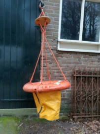 Oude Vintage Reddingsboei Reddingshelicopter Helicopter Kustwacht