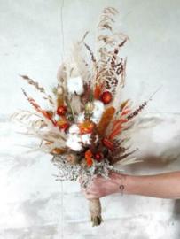 Bruidsboeket van Droogbloemen -Speciaal voor Jou Gemaakt- Droogboeket