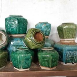 Inspiratie Oude Antieke Shiwan Gemberpotten