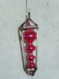 Oude Antiek Vintage Kerstbal 4859 Gablonzer Ornament