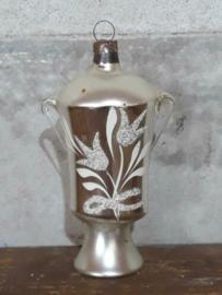 Oude Antieke Kerstbal  2295 Bokaal Koffiepot