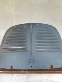 Oud Oltimer Onderdeel Renault 4 CV Moterkap Kofferbak Grijs