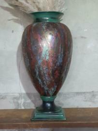 Oude Vintage Design Vaas Bokaal Mid Century Toaldo Bassano Porselein