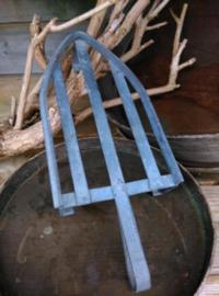 Oude Antiek Brocante Strijkijzer Onderzetter Treef