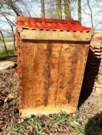 Oude Antieke Bakkersmand Transportmand Mand Kruidenier