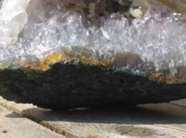 Ruwe Amethist Steen Groot - Mineralen 1200 Gram