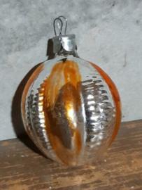 Oude Antieke Russisch Kerstbal 4808 Lampion
