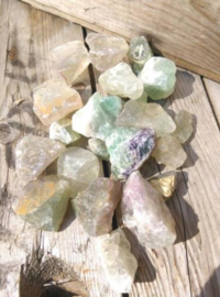 Groene Fluoriet Set - Mineralen 600 gram