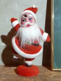 Oude Vintage Kerstman Pop 5645