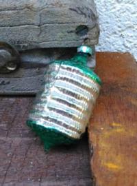 Oude Antiek Vintage Kerstbal  1731 Lampion