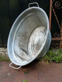 Oude Brocante Zinken Teil 58 cm