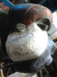 Oud Afrikaans Ritueel Masker Pende Stam uit Congo - African Art