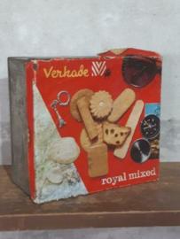 Oud Antieke Verkade Winkelblik Blik Royal Mix