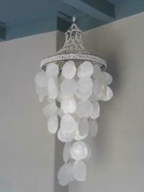 Unieke Kroonluchter - Schelpenhanger Schelpenlamp Capiz Schelpen