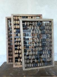 Oude Brocante Vintage Telraam Abacus