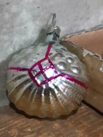 Oude Antiek Vintage Kerstbal 4258 Lampion