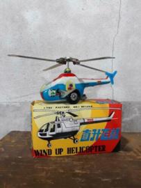 Oud Vintage Blikken Speelgoed - China - Helicopter Beijing 705
