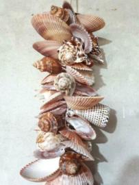 Schelpenhanger - Schelpenslinger Gemengde Schelpen 60 cm XL