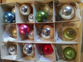 Oude Antieke & Vintage Kerstballen Effen/Deco