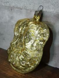 Oude Antieke Russisch Kerstbal 4082 Ornament