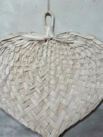 Gevlochten Waaier Palmblad Palm Blad Droogbloemen